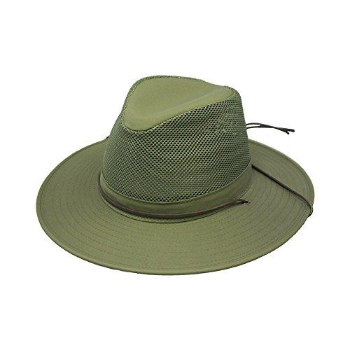 Henschel Hüte Aussie Breezer Hat, Herren, grün (Henschel-hüte Männer Für)