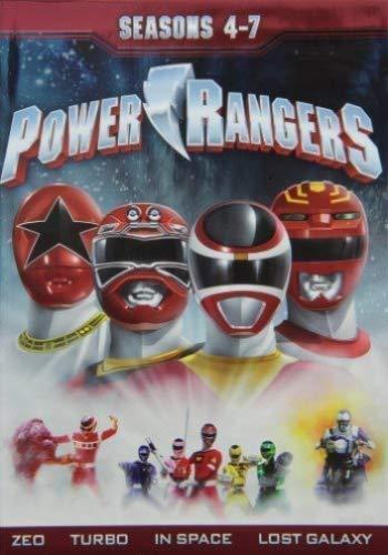 Power Rangers: Seasons Four - Seven 1-7 Seasons