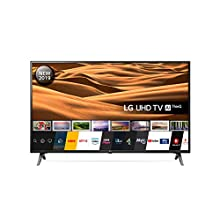 LG 49UM7100PLB 49 Inch UHD 4K HDR Smart LED TV with Freeview Play - Ceramic Black (2019 Model) Amazon exclusive, with Alexa built-in