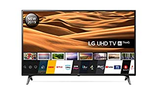 LG 43UM7100PLB 43 Inch UHD 4K HDR Smart LED TV with Freeview Play - Ceramic Black (2019 Model) Amazon exclusive (B07RXVHGL7) | Amazon price tracker / tracking, Amazon price history charts, Amazon price watches, Amazon price drop alerts