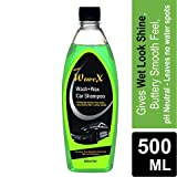Wavex® Wash and Wax Car Shampoo 500ml Gives Wet Look Shine,Buttery Smooth Feel