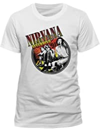 Live Nation - T-shirt Homme - Nirvana - Full Colour Photo