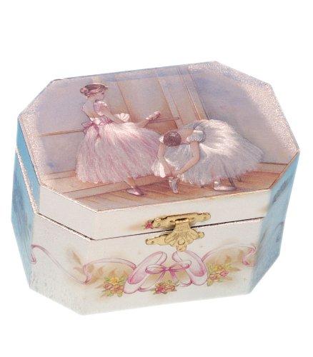 Musicboxworld Spieluhrenwelt Kinder-Schmuckdose Ballerina Spielt die Melodie Bolero 28001