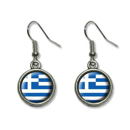 euheit Dangling baumeln Drop Charm-Ohrringe (Griechische Paar Kostüme)