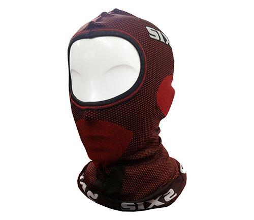Six2 Sottocasco Carbon Underwear Dark Red-Unica, Unisex Adulto, One Size