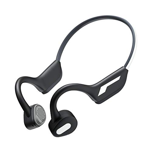Bluetooth KopfhöRer Sport, J31 LQIAN Sport KopfhöRer, Rich Bass / Bluetooth 5.0, Knochenleitung Im Ohr Sport KopfhöRer Joggen / Laufen / Fitness, KopfhöRer Mit Mikrofon (Schwarz)