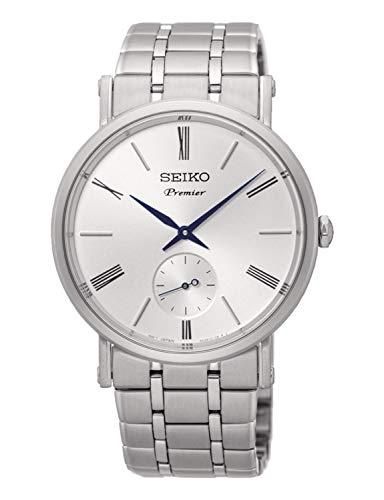 Seiko Herren Analog Quarz Uhr mit Edelstahl Armband SRK033P1