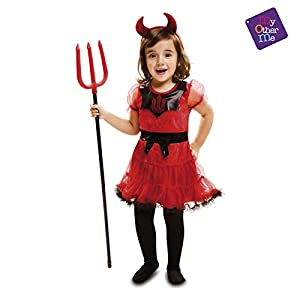 My Other Me Me Me - Halloween Diablesa Disfraz, Multicolor, 1-2 años, Fun Company 202250