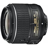 Nikon 18-55 mm / F 3,5-5,6 AF-S G DX VR II 18 mm-Objektiv ( Nikon F-Anschluss,Autofocus,Bildstabilisator )