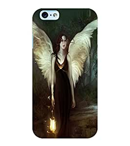 ColourCraft Angel Design Back Case Cover for APPLE IPHONE 6S