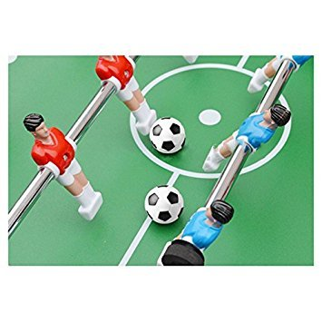 TOOGOO R  5x Plastic 32mm Soccer Indoor Table Football Ball Replace Black white