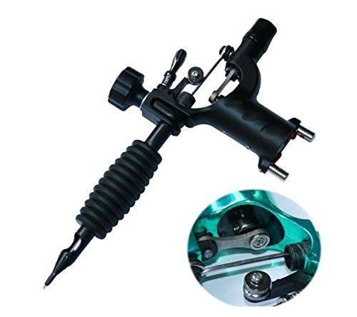 IPL Tattoo Maschine Tattoo Ausrüstung Tätowierung Ergänzungen Leisem Motor Maschine,Black - Dual Voltage Motor