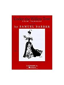 Samuel Barber: Under The Willow Tree (Vocal Duet). Partitions pour Voix(Duo), Accompagnement Piano, Chorale