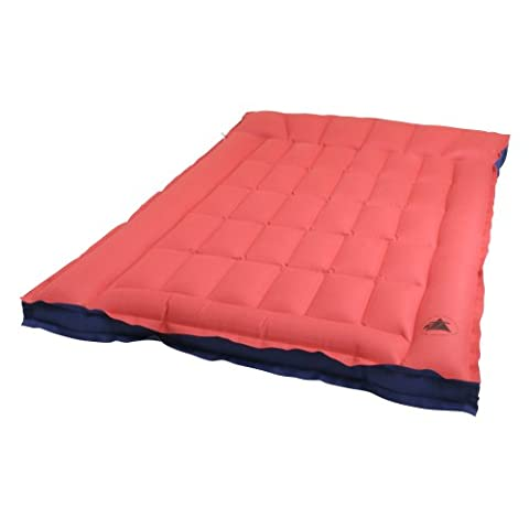 10T Ruby Double Box - Cotton double air mattress in a box shape with a top, wafer structure, 190x120x19 cm