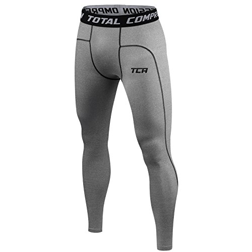 TCA Pro Performance - Armour Base Layer - Thermo-Kompressions-Leggings/Tights - Herren/Jungen - Dark Carbon - M
