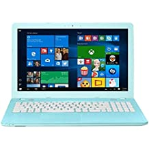 "2018 Asus 15.6"" HD Touchscreen LED Backlight Laptop Computer, Intel Quad-Core Celeron N3450 Up To 2.2GHz, 8GB RAM, 256GB SSD + 1TB HDD, WiFi, Bluetooth, USB 3.1, HDMI, Blue, Windows 10"