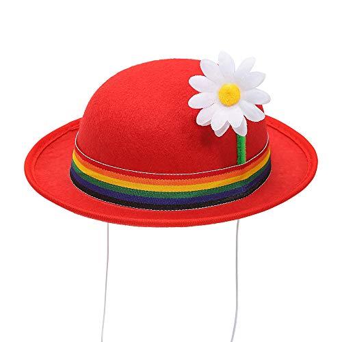 WIDMANN Srl minibomba Banda y Flor para adulto sombreros, y solideos polos, Multicolor, wdm68575