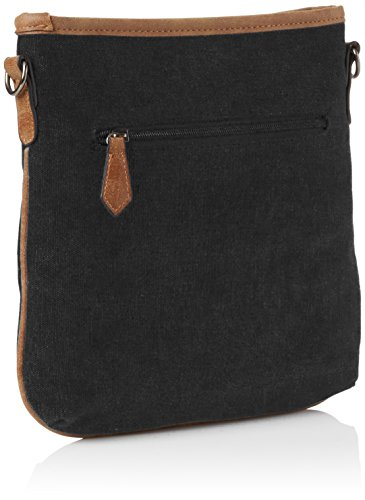 SwankySwans  Serena Star Canvas Shoulder Bag Burgundy, Sac bandoulière femme noir