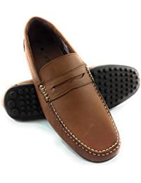 Zerimar Zapato Estilo Casual con Elástico Fabricado EN Piel Color marronTalla 40 uEzn82Q