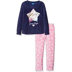 Disney Frozen Good Night Conjuntos de Pijama, Azul (Navy 19-3839TC), 4 años para Niñas