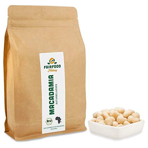 Bio Macadamia: Naturbelassen (500g)