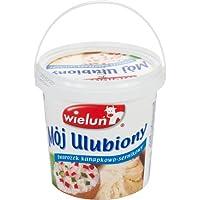 Polnischer Schichtkäse für Kuchenzubereitung 1kg von Wielun I Polnische Milchprodukte
