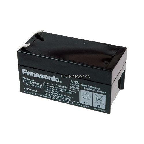 Panasonic Batterie au plomb (AGM) pour hellige ECG epicardia PM 200/210/220/221/240 Batterie Médical