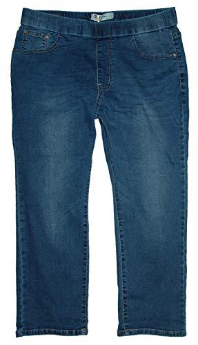 b.s Damen Stretch Capri 3/4 Schlupf-Jeans Hose, Blue Used S5244, Gr.42 W33