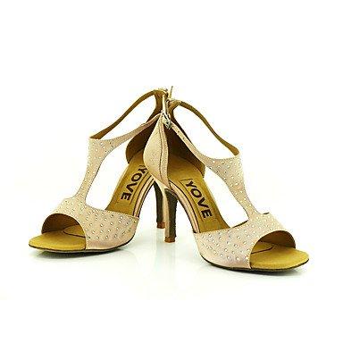 @ Senhoras Calmas Profissionais Fúcsia Sapatos De Dança