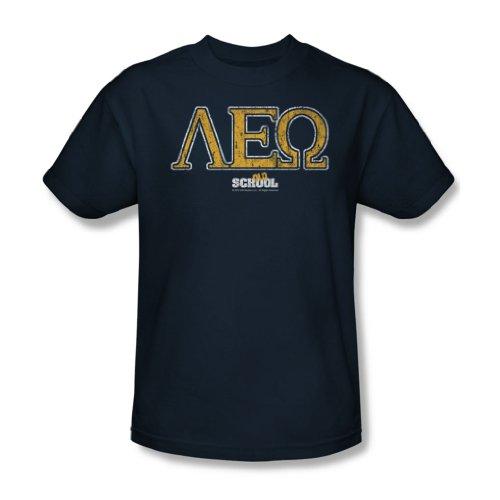 Old School - Herren Leo T-Shirt In Navy Navy