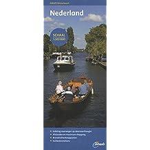 Wasserkarte Niederlande  - Nederland 1:320 000