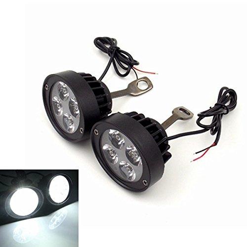 Arm-leuchter (Alamor 12V Motorrad Super Leicht Wasserdicht Led Scheinwerfer Rückansicht Spiegel Licht Spot Leuchter Assist Lampe)