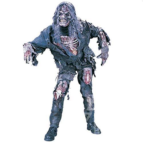 TOOGOO Halloween Kostüm Adult Demon Ghost Zombie Kleidung Set Unheimlich Kostüme Horror Corpse Performance Kleidung (Adult Kostüm Ghost)