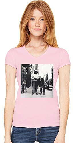 Gang Starr New York City Womens V-neck T-shirt XX-Large -