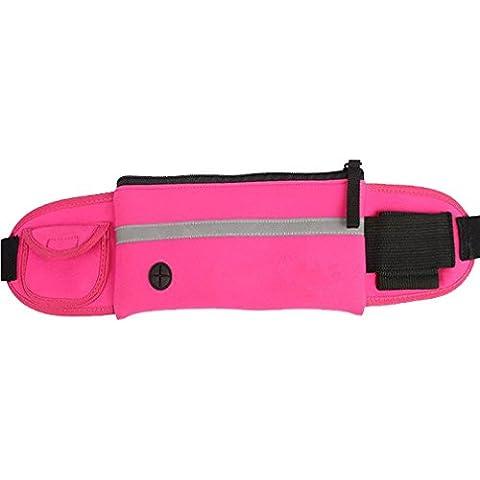 ALAIX Ajustármela Cinturón de Correr multifunción Riñonera de Running transpirable y cómodo impermeable