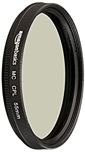 AmazonBasics Circular Polarizer Filter- 55 mm