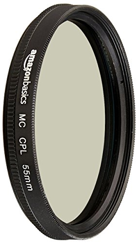 AmazonBasics Zirkularer Polarisationsfilter - 55mm