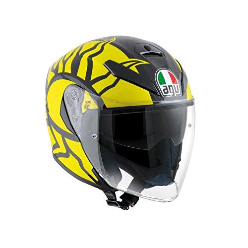 AGV Casco Moto K-5 Jet E2205 Top, Rossi Winter Test 2011, L