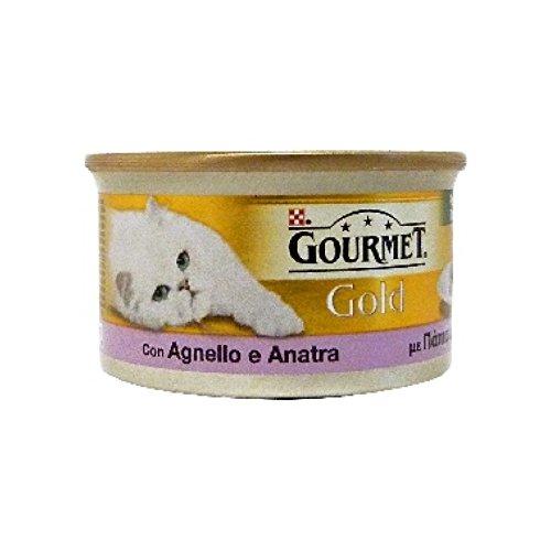 GOURMET GOLD Paté de cordero y pato estofado gr85 Comida mojado de gatos