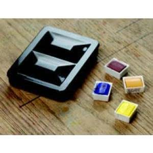 Fome Empty Watercolour Box for 8 Half Pans