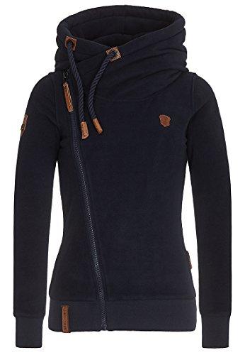 Naketano Female Zipped Jacket Dreisisch Euro Swansisch Minut Dark Blue, M