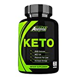 Keto - Premium Keto Diet Pills to Help Ketosis - MCT Oil & BHB to Create a Keto Fat Burner - 60 Capsules