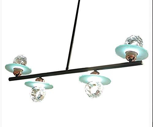 Osraed Kristall Kronleuchter Lampe Restaurant, Wohnzimmer, Bügeleisen Amerikanische kreative Persönlichkeit, Led-Designer, post-modernen, hellen, einfachen und Neuen, Kristall Lampe Eisen Kunst -