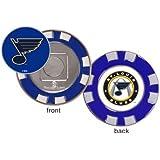 St. Louis Blues Poker Chip Golf Ball Marker