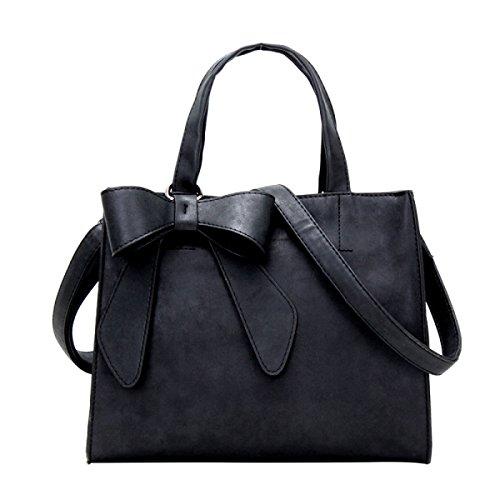 Yy.f Nuove Borse Arco Piccola Grande Borsa A Tracolla Bag Fresco Smerigliato Multicolore Black