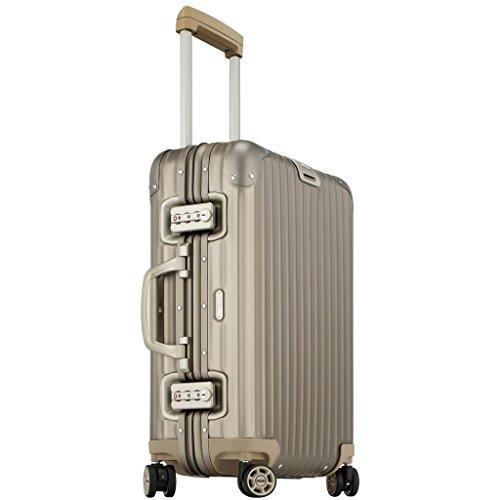 Rimowa Topas Titanium IATA Gepäck 53,3 cm Kabinen-Multiwheel 32,0 L Light Bronze