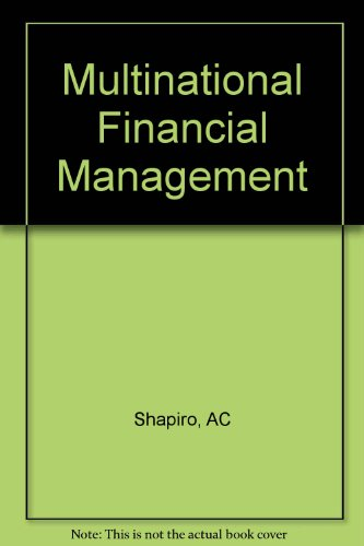 Multinational Financial Management Shapiro Pdf