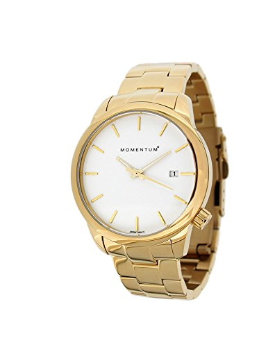 Momentum Women's 1M-SP13W0 LOGIC SS Analog Display Japanese Quartz Gold Watch