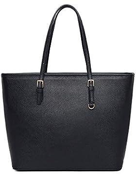 VECHOO Damen Handtasche Elegant