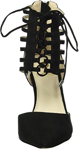 La Strada 909441, Sandales  Bout ouvert femme Noir - Schwarz (2201 - micro black)